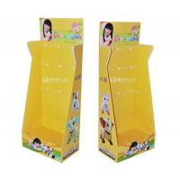 Buy cheap Toys Promotional Cardboard Hook Displays with Peg Hooks product