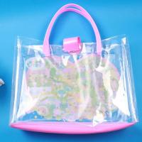 China Plastic Cosmetic Bags Ladys Fashion Trolley Handbags Shoe and Matching Hand Bag Sets on sale