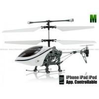 Quality Seasonal Sale Happy Cow 777-170 iPhone Control Infrared 3CH Medium Size iHelicopter w/ Gyro (White) for sale