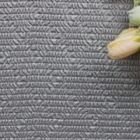 Classical style velvet weaving perforated leather fabric for bag