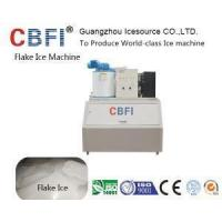 500 Kg Automatic Fresh Water Flake Ice Machine on Land for Sea Food Cooling