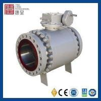 Buy cheap API Standard Fire Safe Design 3 Piece 6 Inch Forged Steel Trunnion Mounted Ball Valve from Wholesalers
