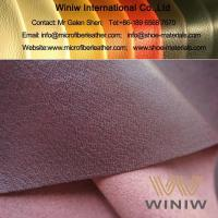 Buy cheap Highest Quality PU Faux Pigskin Leather Lining for Shoes product
