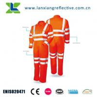 Buy cheap Class 3 Reflective Safety Coverall product