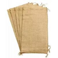 Flood Bags Gunny Sand Sacks Jute Burlap Sand Bags Self-tie with Non-woven on Large Size