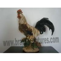 Buy cheap Large Realistic Resin Cock Animal Sculpture as Yard Decor product