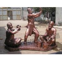 China Huge Bronze Casting Figurines for Garden Decoration on sale