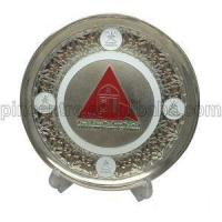 Buy cheap Silver Trophy Plates Stand product