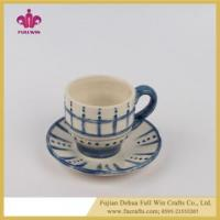 Buy cheap Dolomite Mug Ceramic Dinnerware Spring Tea Mug and Saucers product