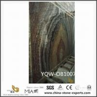 Buy cheap Wholesale Black Fossil ONYX Marble Stone Slab from Jade Suppliers product