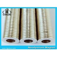 China Ring Magnets(NdFeB) N35 R28*12*4mm on sale