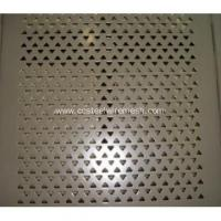 Buy cheap Stainless Steel Perforated Sheet Metal from Wholesalers