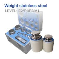 Buy cheap Weight E2-stainless steel from Wholesalers