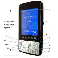 Buy cheap Audio Guide Device from wholesalers