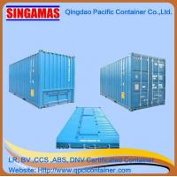 Buy cheap Singamas Qingdao Factory Directly Produce and Sell 20ft High Cube New Bulk Shipping Container product