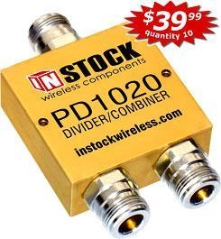 Quality PD1020 - RF Power Divider, Combiner, Splitter for sale