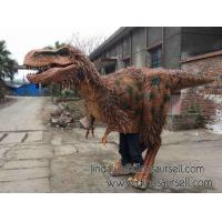 Buy cheap Animatronic Dinosaur life size dinosaur costume product
