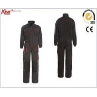 Buy cheap Factory production long sleeves reinforcement coverall, chest pockets elastic waist coverall product