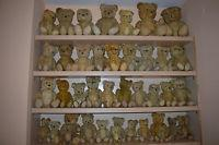 Buy cheap Lot Of 40 Old Vtg Antique Teddy Bear Toy Straw Jointed Stuffed Mohair European from wholesalers