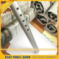 Buy cheap aluminium cnc factory punching extrusion profile tubing sizes OEM from wholesalers