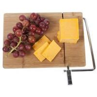 Buy cheap Wooden Bamboo Cheese Board With Slicer from wholesalers