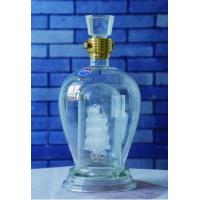 Buy cheap dragon boat craft 375-500-750ml Glass Wine Bottle product