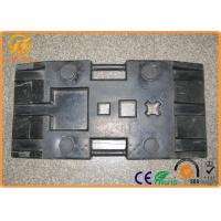 Buy cheap Heavy Duty Black Rubber Sign Pedestal Base with 28 kg Weight 800 x 400 x 120 mm product