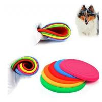 Buy cheap Flying Discs Outdoor Training Dog Fetch Toy Silicone Puppy Frisbee product