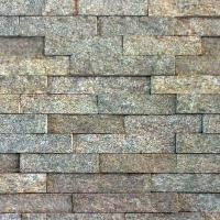 Buy cheap Yellow Gneiss Wall Stone Panel from Wholesalers