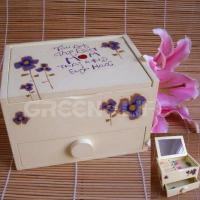 Buy cheap glw11802 mom Wooden recodable Jewel Box from Wholesalers