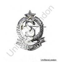 Buy cheap Badge Security Chrome Cap Badge R183 from Wholesalers