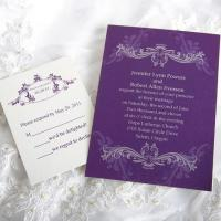 Buy cheap Royal Refinement Wedding Invitations [ING020] product