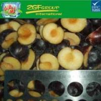 Buy cheap IQF plum halves with skin on product