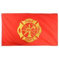 Buy cheap FIRE DEPT Advertising Flags from Wholesalers