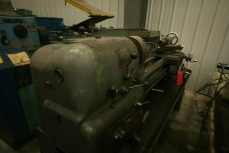 "Quality Asset #: 11754 Clausing Colchester 15"" x 48"" Geared Head Precision Lathe, 2 1/16"" Spindle Bore for sale"