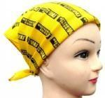 Buy cheap 100% Cotton skull print head scarf product