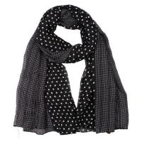Buy cheap Polyester dot printed scarf from wholesalers