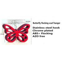 Buy cheap Butterfly flocking scarf hanger from wholesalers