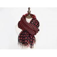 Buy cheap Plaid linen woven scarf from wholesalers