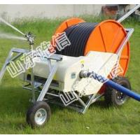 Mini Hose Reel Irrigation Machinery With Spray Gun For Crops