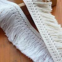 Buy cheap Fringe lace trim/macrame/tassel lace for garment from wholesalers