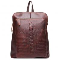 Buy cheap Itslife Women's Genuine Leather Alligator Pattern Backpack product