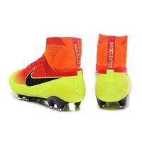 Buy cheap 2016 New Style Mens Magista Obra FG-Red-Vert With ACC Purple Hi Top Football Shoes Soccer Boots product