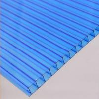 Buy cheap Transparent PC Plastic Hollow Roofing Sheets product