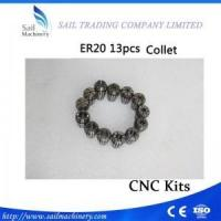 Buy cheap ER20 13Pcs 1-13MM ER20 Collet For CNC Milling Lathe Tool And Spindle Motor Collets and nuts product