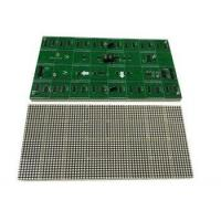 Buy cheap F3.0 indoor dual single color LED dot matrix module 32X64 dots 128mmX256mm led module from wholesalers