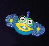 Buy cheap MG Jewelry - Blue Fish Pin from Wholesalers