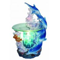Buy cheap POLY RESIN OIL BURNER EP-143 BLUE DOLPHINS POLY RESIN OIL BURNER product