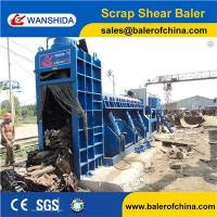 Buy cheap WANSHIDA Hydraulic Scrap Metal Shear Baler for Waste Car Bodies Light Scrap Metal Copper Steel product