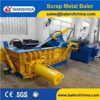 Buy cheap Aluminum Cans Scrap Metal Baler product